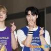 📷| 160920 | TWITTER Des photos de presse de Moon Bin et San-Ha, lors de leur arrivée au Show Champ ont été publiées. cr. Voir sur les photos Sab | Astroha_France_3