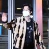 200916 빽투더 아이돌 퇴근 오늘의 마스크 체인는 하늘색이당~ 정말 귀여워요 ㅠ_3