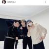 an instagram update from eunwo.o_c .. 문빈 & 산하 차이링 👍 200916