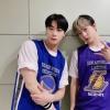 [PIC] Da ASTRO_Staff [ 🍸200916 MBC M Il look di oggi dei DdanKong👬 : giocatori di basket⛹ Se ci sono questi giocatori la presenza sul campo da basket è 100% assicurata🏀💯_1