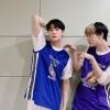 [PIC] Da ASTRO_Staff [ 🍸200916 MBC M Il look di oggi dei DdanKong👬 : giocatori di basket⛹ Se ci sono questi giocatori la presenza sul campo da basket è 100% assicurata🏀💯_2
