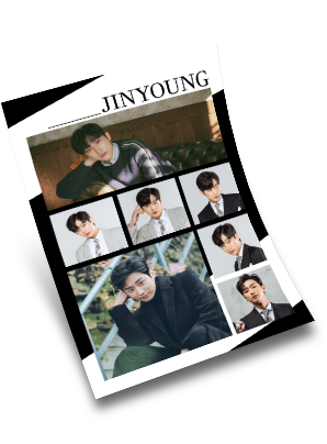 Jinyoung Limited Edition Sticker Set