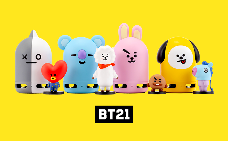 Pre-order Sale!   BT21 Friends Duo Bluetooth Speaker & Figure