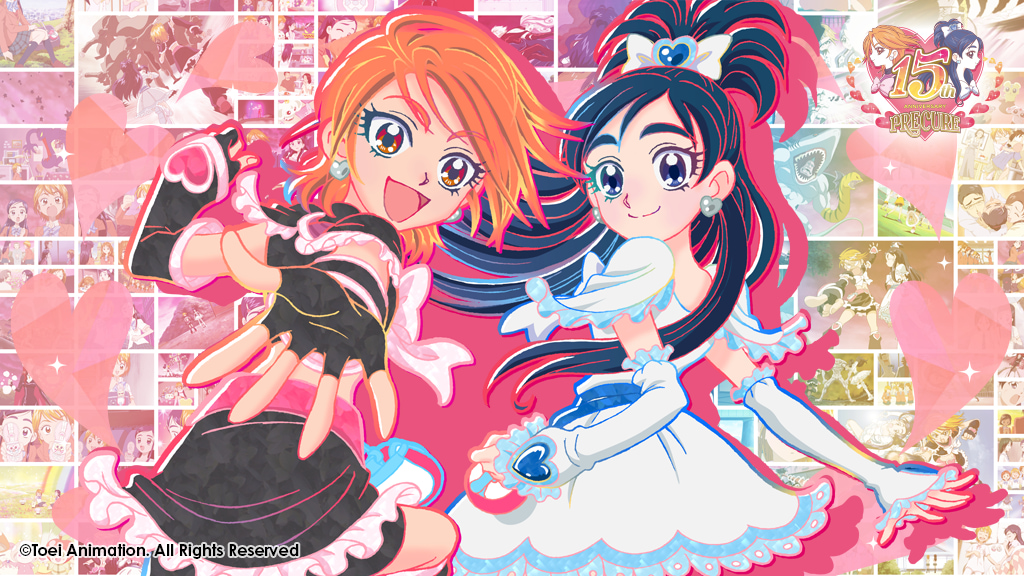 PRETTY CURE 15th Anniversary in Korea Project