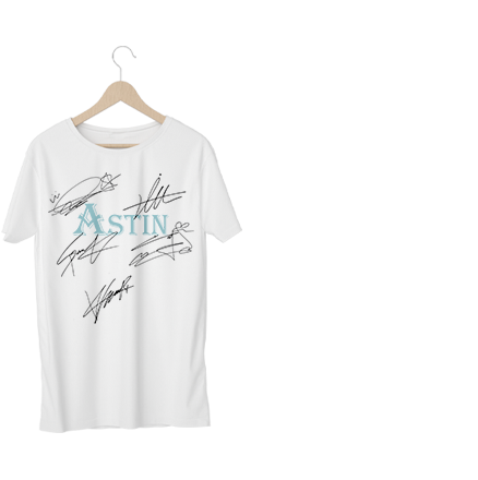 ASTIN Autographed T-shirt