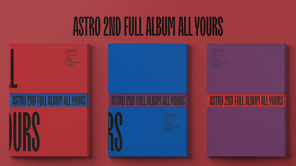 ASTRO 2ND FULL ALBUM [All Yours] Pre-Order