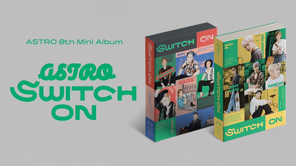 ASTRO 8th Mini Album [SWITCH ON] Pre-Order