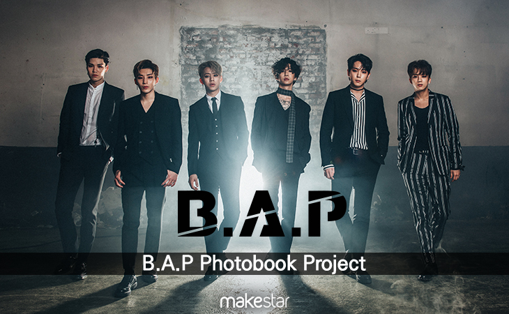 B.A.P Photobook Project