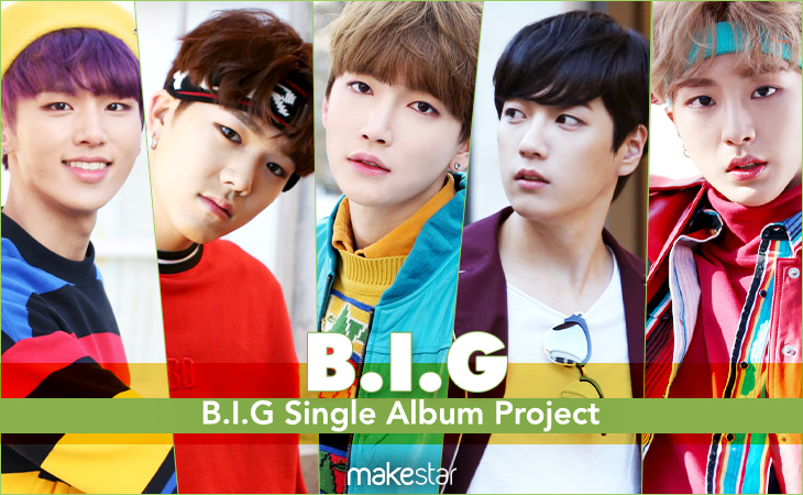 B.I.G Single Album Project