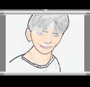 BLACK6IX Self-Portrait Scroll