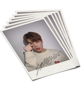 BLACK6IX Autographed Polaroid Photo SET