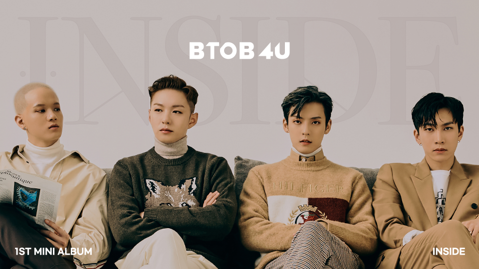 BTOB 4U 1st Mini Album [INSIDE] Special Album Event