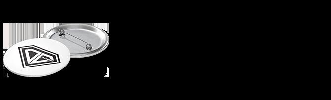 ONE D-CRUNCH Logo Badge