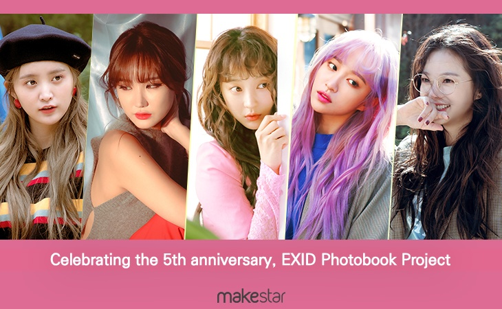 Celebrating the 5th Debut Anniversary, EXID Photobook Project