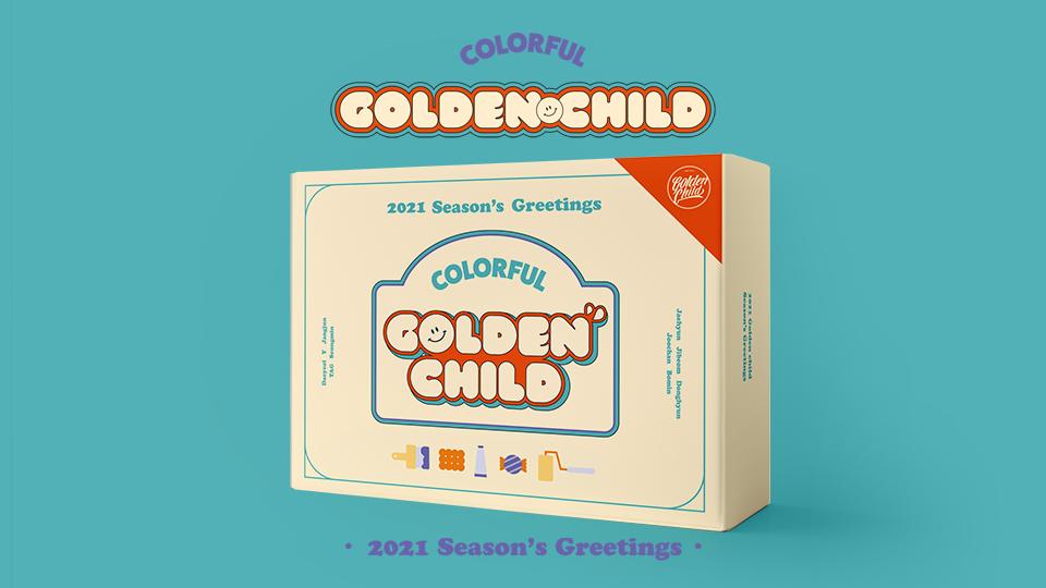 2021 GOLDEN CHILD Season's Greetings  Pre-Order
