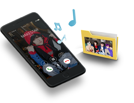 Special Ringtone SET made by H.B.Y members (Digital)
