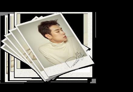KNK Autographed Polaroid Photo SET