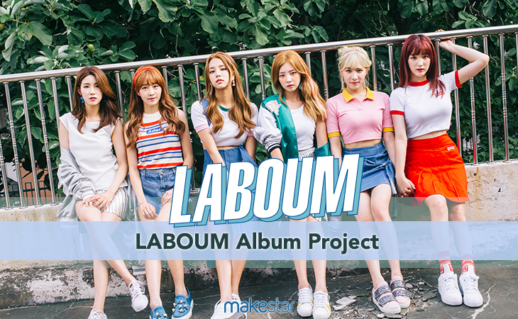 LABOUM Album Project