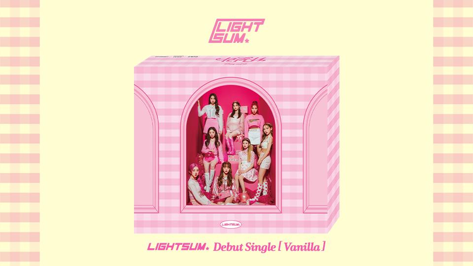 LIGHTSUM Debut Single [Vanilla] PRE-ORDER VIDEO CALL EVENT