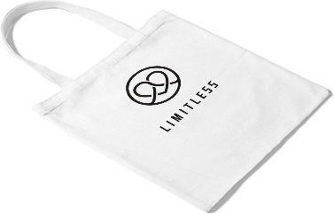 Echo bag with LIMITLESS Logo
