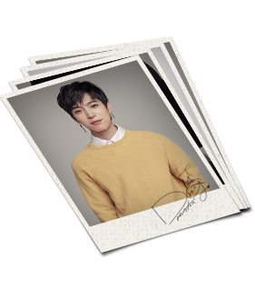 Autographed Polaroid Photo SET