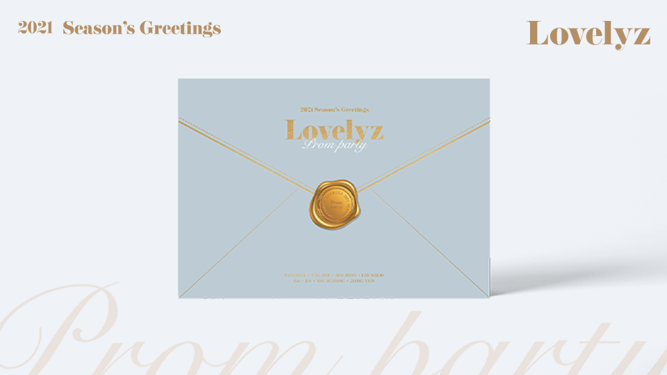 2021 LOVELYZ Season's Greetings Pre-Order