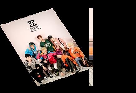 Makestar Limited Edition MustB Mini Poster