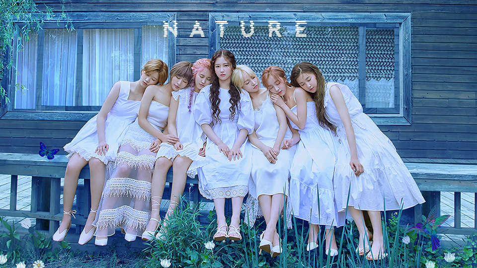 NATURE 3rd Single album Video Call Event