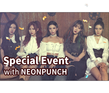 Invitation Ticket for Special Fan Meeting with NEONPUNCH
