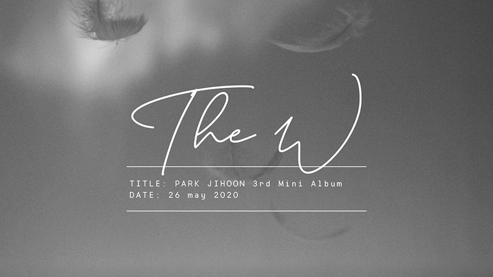 PARK JIHOON 3rd Mini Album [The W] Pre-Order