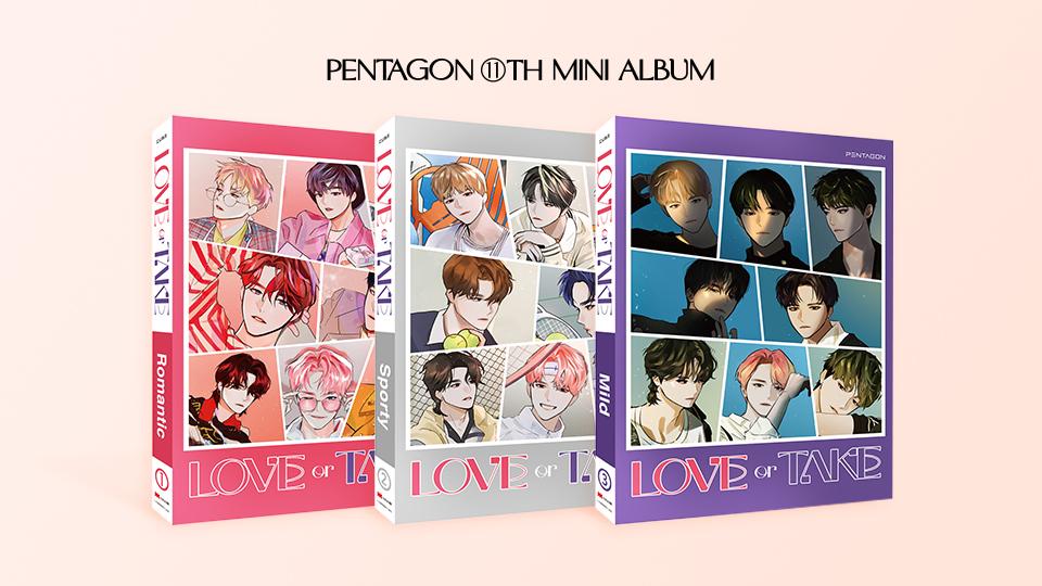 PENTAGON 11th Mini Album [LOVE or TAKE] Video Call Event