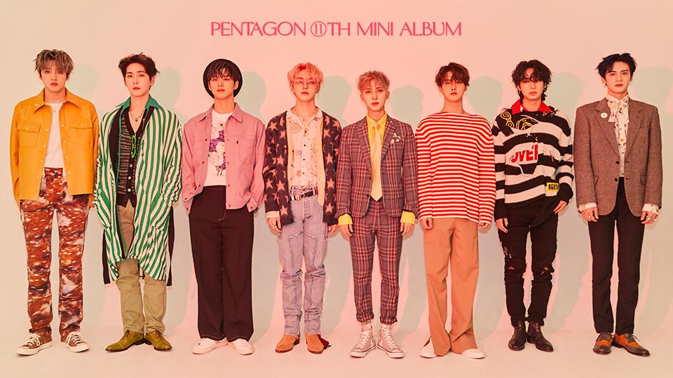 PENTAGON 11th Mini Album [LOVE or TAKE] 1:1 Video Call Event