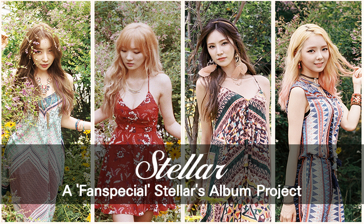 A 'Fanspecial' Stellar's Album Project