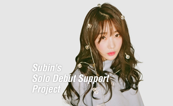 Subin's Solo Debut Support Project