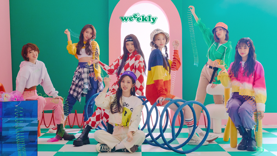Weeekly 3rd Mini Album [We play] Signed Album Event